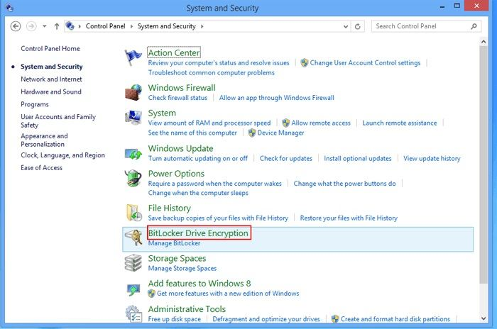 how to open bitlocker in windows 7 without password