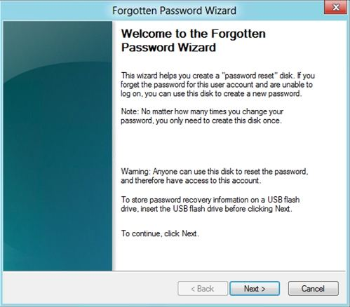 how to reset hp envy password