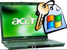 how to reset password on laptop acer
