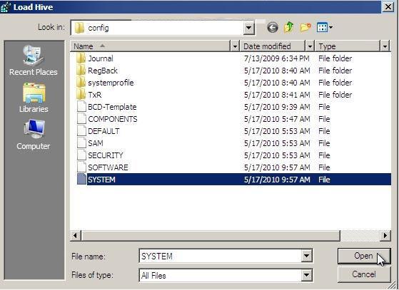 How to Reset Your Windows Password in Regedit at Boot in Windows 7/Vista