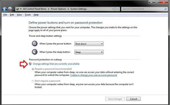 enable password protection on wakeup in windows 8.1