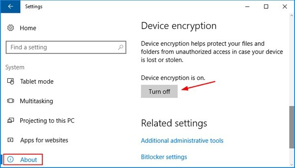 3 Ways to Turn off BitLocker on Windows 10/8/7