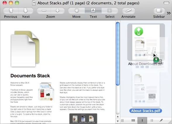 how to combine pdf files in mac osx
