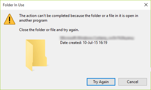SOLUTION] Can't Delete Unwanted/Empty Folder in Windows 10