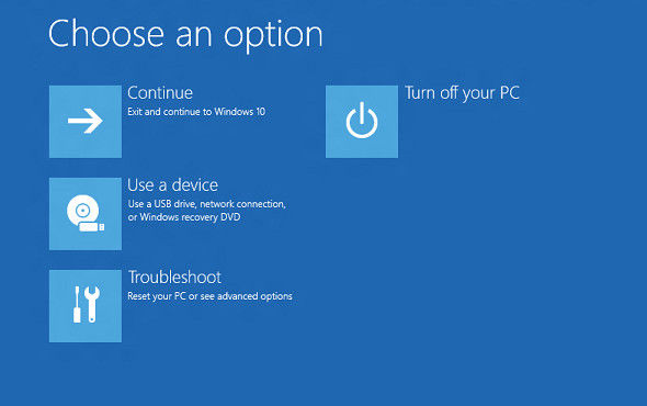 microsoft surface pro reset button