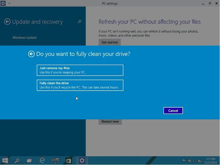 How to Reset Your Dell Windows 10 Computer to Factory Settings