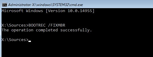 How to restart windows 10 in safe mode from command prompt