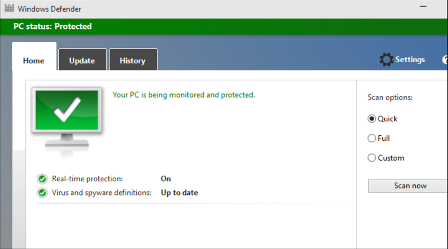how to protect windows 10 pc/laptop