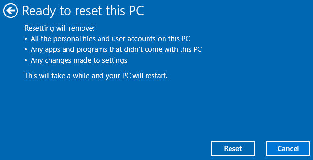 lenovo onekey recovery windows 10 not working