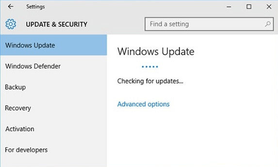 configuring update for windows 10 stuck at 99