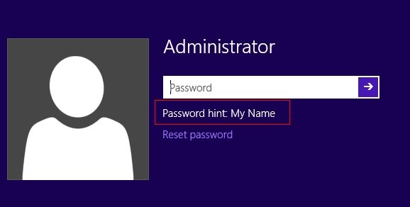 recover windows 10 admin password
