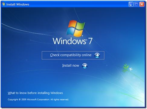 upgrade windows xp to windows 7