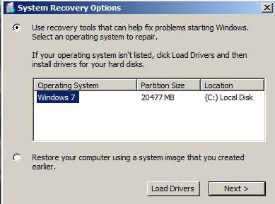 reset windows 7 password with system restore