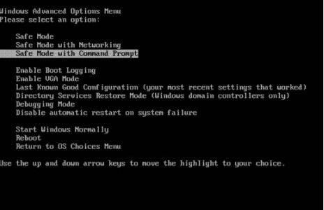 enable admin account safe mode windows 7