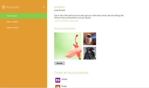 how to delete a user account on windows 8