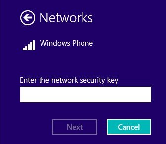 update security key of wifi network