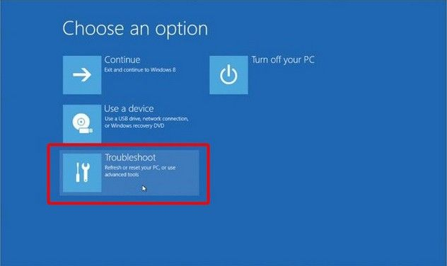 disable uefi boot in windows 8.1