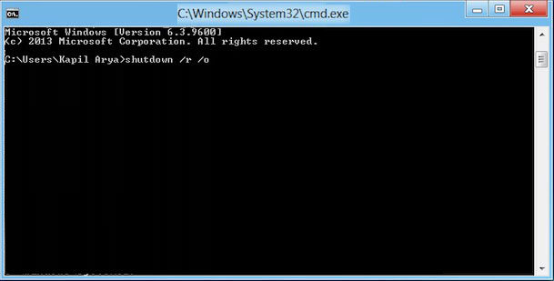 lost admin rights in windows 8.1