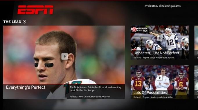 free sports app for windows 8.1