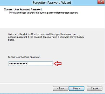 how to create a password reset disk in windows 8