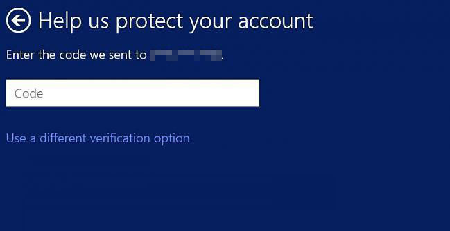 how to verify microsoft account in windows 8.1