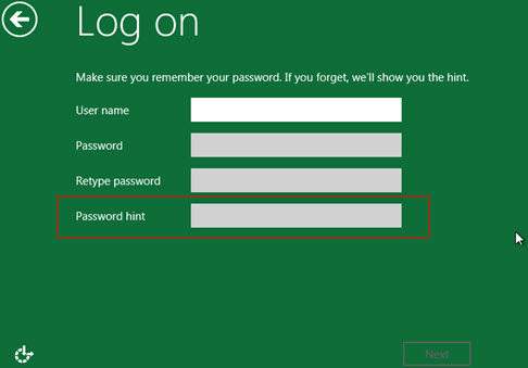 windows 8 password unlocker