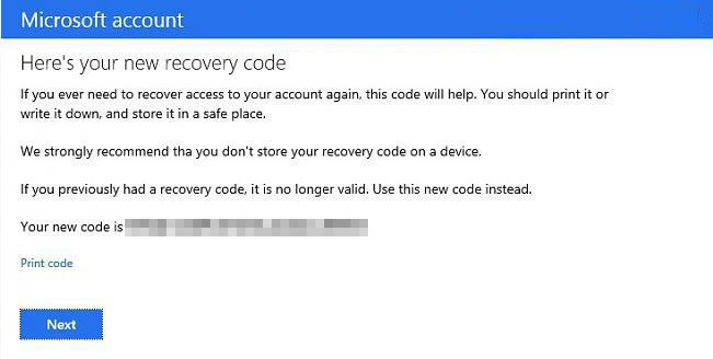 verify your Microsoft account identity