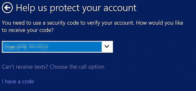 How to Verify or Recover your Microsoft Account in Windows 8 1