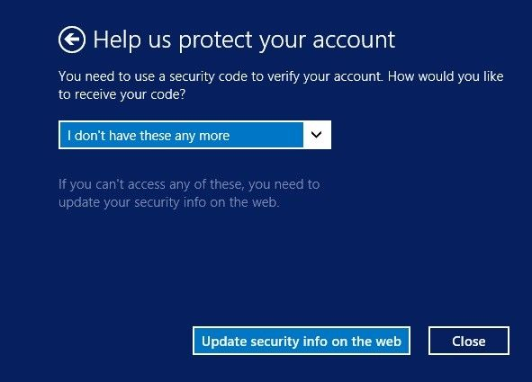 how to verify your Microsoft account identity