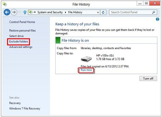 how to use recovery drive windows 8