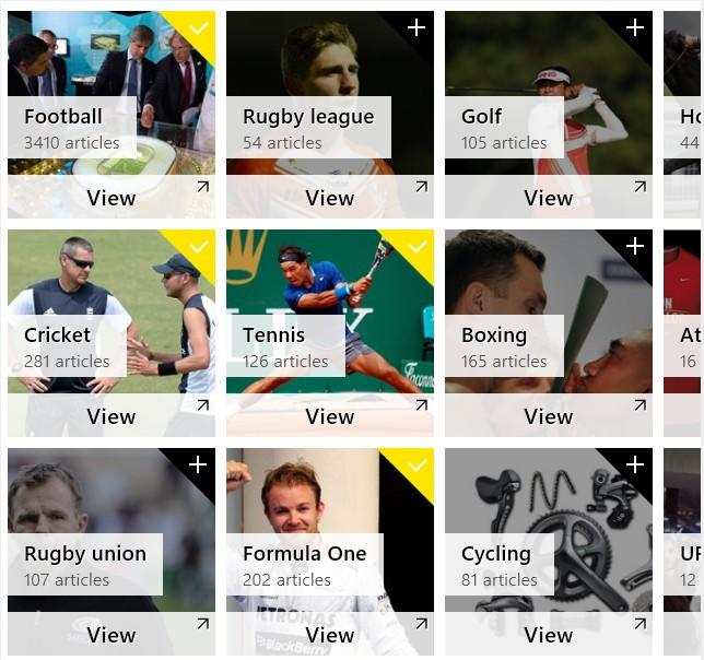top 5 free sports apps for windows 8.1 device