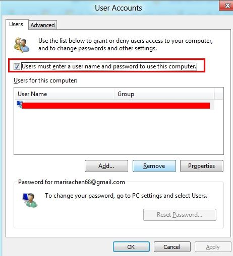 How to Login Windows 8 without Entering Password