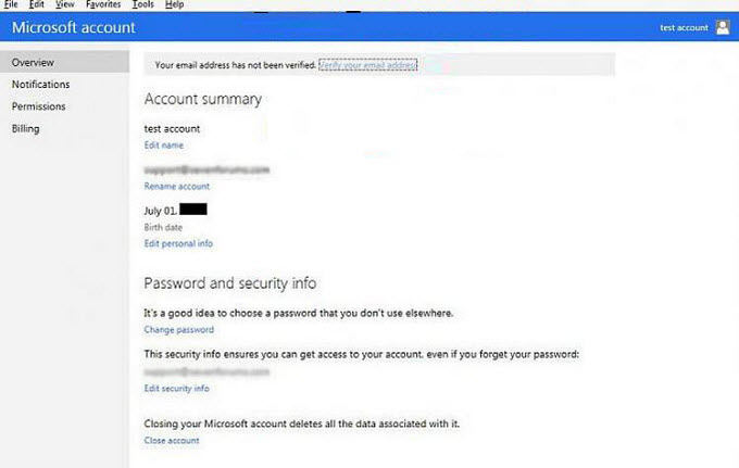 create a microsoft account online