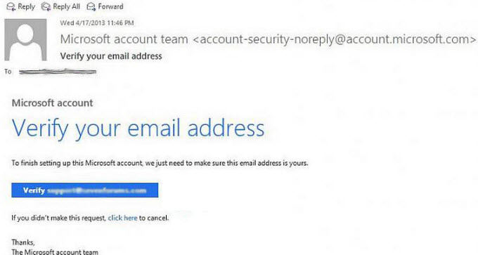 sign up a microsoft account for windows 8