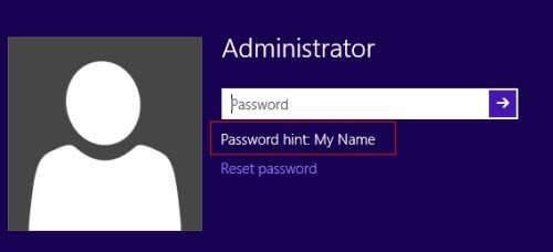 recover windows 8 administrator password