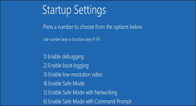 windows 8 startup from safe mode