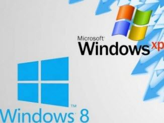update from windows xp to windows 8