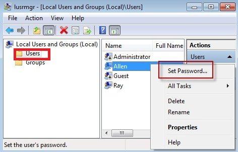 how to change windows 8 password if forgotten