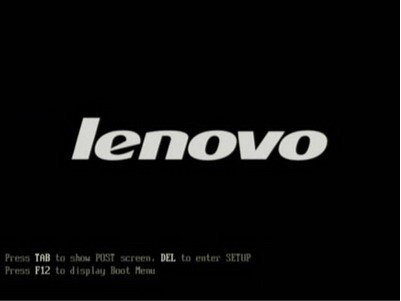 set lenovo boot from USB drive
