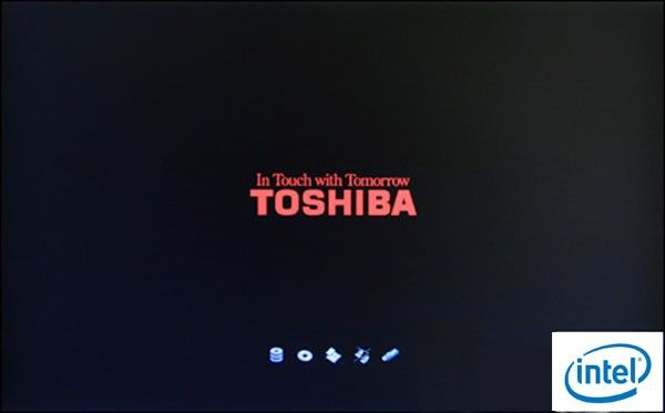 set toshiba boot from USB drive
