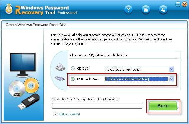 A Useful Method to Bypass Windows XP Password in Safe Mode