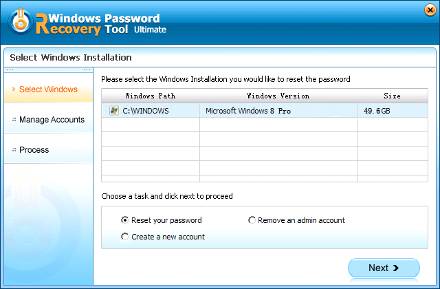 how to change windows 7 password