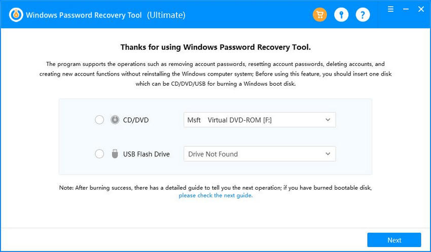 windows password reset disk windows 7